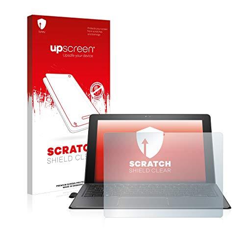 upscreen Schutzfolie kompatibel mit HP Pro x2 612 G2 – Kristallklar, Kratzschutz, Anti-Fingerprint