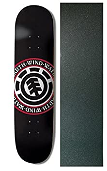 Element Skateboards Deck Seal Black 8.25  with Griptape