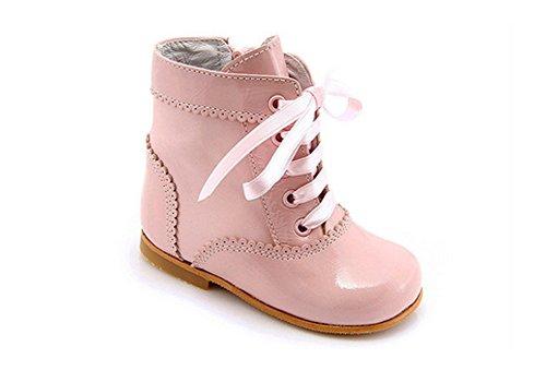León Shoes Mädchen Stiefel rosa (28)