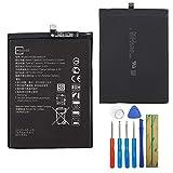 HB386589ECW Batterie de rechange Li-ion compatible avec Huawei P10 Plus P10 Plus Premium Edition...