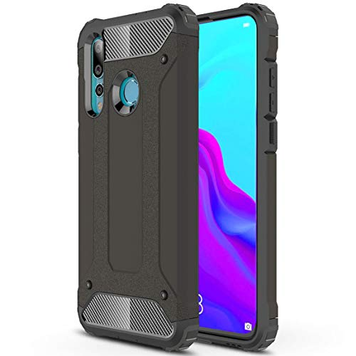 Capa protetora J&H para Huawei Nova 4 Armour, capa rígida para Huawei Nova 4, capa híbrida de camada dupla à prova de choque para Huawei Nova 4