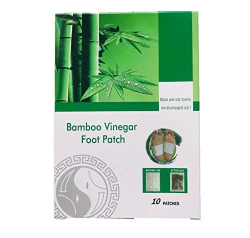Wunderfabrik Bamboo Vinegar Fuß Pflaster zur Entgiftung des Körpers mit Bambus und Vitamin C