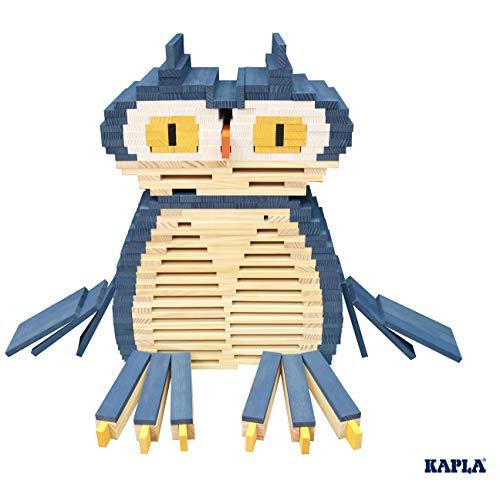 Kapla 9000105 Holzplättchen 40er Box Buch, Blau - 5