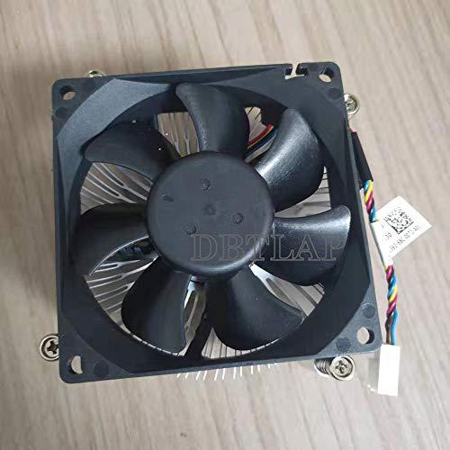 DBTLAP Ventilador DE LA CPU Compatible para DELL Poweredge T130 CPU Enfriamiento Disipador de Calor y Ventilador 0M3M04