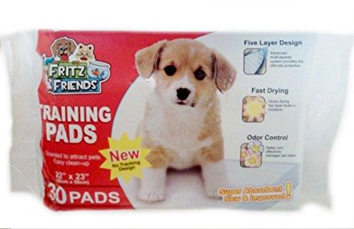 Pet Training Pads By Fritz & Friends 30 Pads - 22 X 23