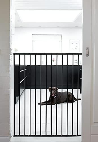 Design scandinavo per animali domestici extra alto allungabile per bambini e animali domestici, 105 cm di altezza