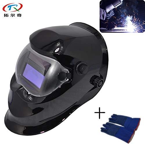 Welding helmet|welding mask|Auto Darkening Welding Helmet Soldering Mascara Tig Mig Self-check Best Quality Function Controller TRQ-KD01-2233FF|By KALLAR