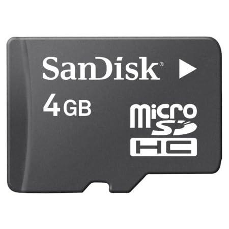 Transflash Microsd 4gb Sandisk Retail Computer Zubehör