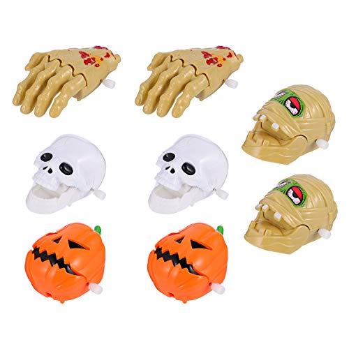 SOIMISS 8 Stück Halloween Aufziehspielzeug- Up Spielzeug Ghost Hand Clockwork Toy