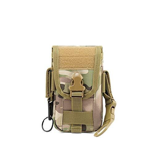 De múltiples fines Bolsa táctica Bolsa de caza Bolsa de cintura Bolsa de cintura Militar Tactical Pack Bolsas al aire libre Caso Pocket EDC Sport Al aire libre Camping Camo Bag para escalada al aire l