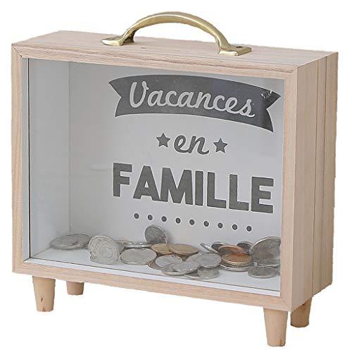 DIAOSI Shounada Le glazen bankbiljetten transparant porselein spaarvarken van de munten Conia Decoraties van de cadeaus van het varken spaarpot