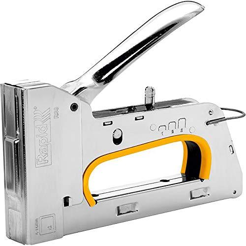 Rapid 10582521 Handtacker R33, Metall, silber