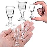 REATR 2pcs 10ml, 0.4oz Mini Wine Shot Glass Shooter Licor de Vino Spirit Sake Alcohol Cups Chino japonés Copas de Agua - Vaso de Agua para Tequila Vodka Copa de Vino Chino Vasos de chupito
