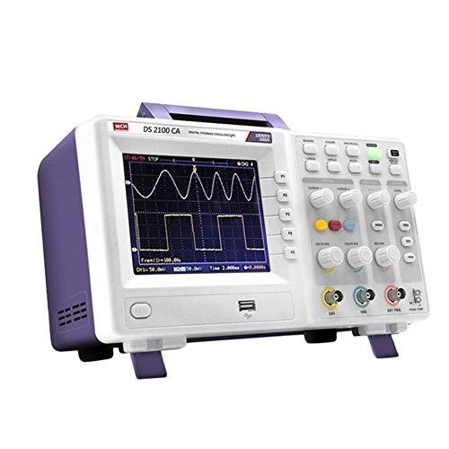 Zs-Tester Siglent Tecnologías Osciloscopio Digital Osciloscopio analógico portátil de Mano Osciloscopio for Coche 100MHz Generador de Funciones (Size : 220v)