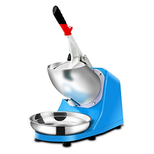 Máquina de afeitadora de hielo eléctrica de la cuchilla de acero inoxidable de 250W Máquina de la máquina de nieve de la nieve for el hogar del uso profesional del hogar 143 lb / hr picadores de hielo