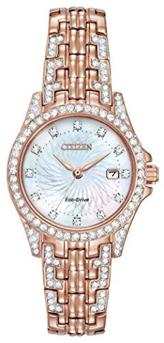 Citizen Women's Eco-Drive Watch with Crystal Accents, EW1228-53D