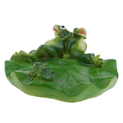 D DOLITY Frosch Schwimmfigur für Garten, Teich, fishpond, schwimmende Dekoration des Brunnenwassers - Familie