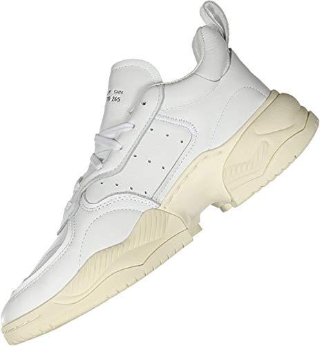 adidas Supercourt RX Hombre, (Blanco cristal/blanco tiza/blanco crudo.), 43 EU