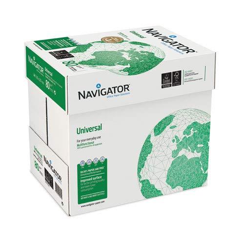 Printpapier/kopieerpapier Navigator - A4 80 grams - 5 pakken / 500 vellen