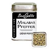 BenCondito I Grüner Malabar Pfeffer - ganze grüne Pfefferkörner 60 Gr. Dose