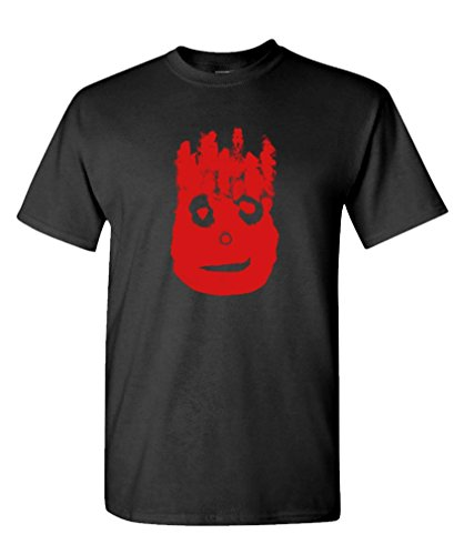 Volleyball Bloody FACE - Ocean Movie Hanks - Mens Cotton T-Shirt, M, Black