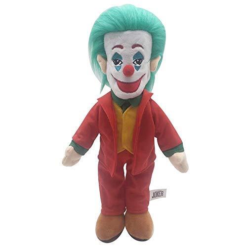 JMHomeDecor Juguetes De Peluche 1 Uds 38 Cm Película Joker Muñeco De Peluche Lindo Joker Juguetes De Peluche Muñecos Regalos para Navidad Niños