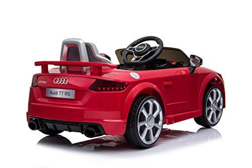 RC Auto kaufen Kinderauto Bild 3: Toyas Lizenz Audi TT RS Kinder Elektrofahrzeug Kinderfahrzeug Kinderauto Elektroauto 2X 30W Motor Rot*