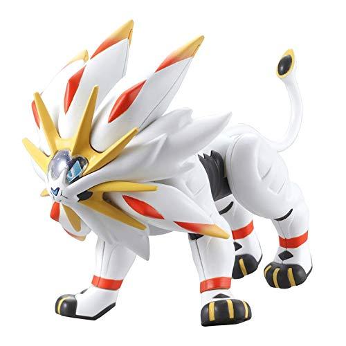Pokemon Gemonteerd Solgaleo Action Figure Pocket Monster Evolution Series Collection Model Toys
