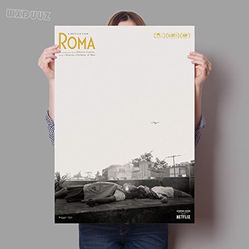 SDFSD Klassische Rom Reying Film Bild Poster Kinderzimmer Kinderzimmer Malerei Wohnkultur lebende Wandkunst Poster Leinwand Malerei 60 * 100cm B.