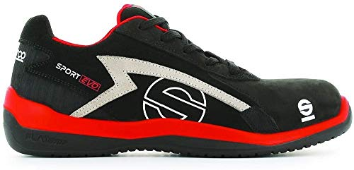 Sparco S0751642RSNR Zapatillas Sport EVO Negro Talla 42 🔥