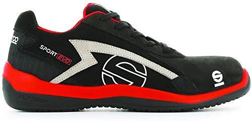 Sparco S0751642RSNR Zapatillas Sport EVO Negro Talla 42 ⭐