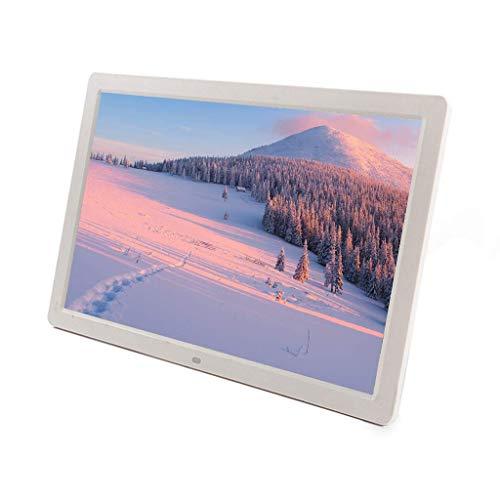 ZHTT Photo Frame La Macchina pubblicitaria Digitale Widescreen ad Alta Definizione da 17 Pollici Supporta l'album elettronico a Parete Video 1080P - Supporta l'ingresso HDMI Decora i Regali