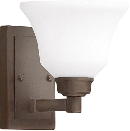Kichler 5388OZ Langford Wall Sconce, 1 Light Incandescent 100 Watts, Olde Bronze