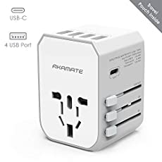Image of the product Travel Adapter AKAMATE that is listed on the catalogue brand of AKAMATE.