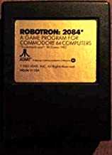 Robotron 2084 Commodore 64 Video Game Cartridge