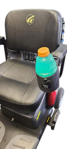 Cup Holder Front Mount for Electric Wheelchair or...