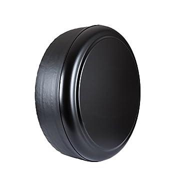 Boomerang 28  Rigid Tire Cover -  Hard Plastic Face & Vinyl Band  for Toyota RAV4  1995-2012  - Black Textured