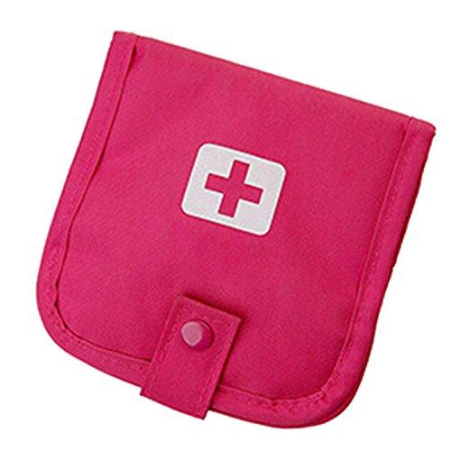 Générique Rose vif : 2016 NEUF Portable d'urgence Kits de voyage portable Kits haute capacité de stockage Box Irazu Medical Kit sac de médecine