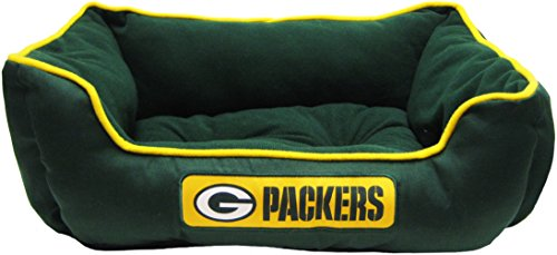 Pets First NFL Green Bay Packers Bed for Dogs & Cats