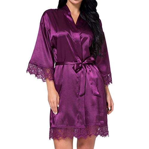 Bruiloft bruid ochtendjas satijn bruidsmeisje robe vrouwen bruid kant kimono modieuze complete badjas home nacht warme sche