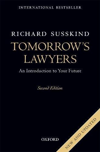 Download Tomorrow's Lawyers: An Introduction To Your Future Lingua Inglese 