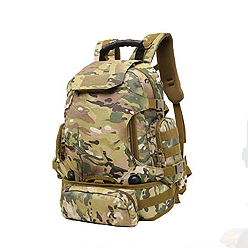 NWJHB Outdoor three-purpose combination backpack, multi-function backpack, camouflage mountaineering bag, cycling bag