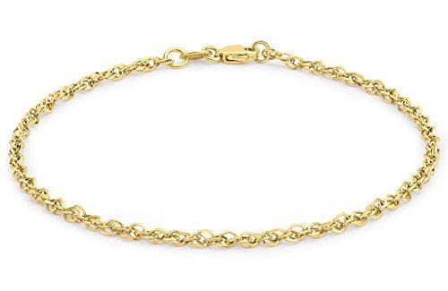 Carissima Gold Damen - Armband 9 kt (375) Rundschliff Diamant 1.29.4301