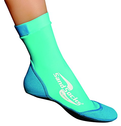 Vincere Sand-Socks Kids - neopreen sokken voor kinderen - strandsokken ter bescherming tegen hitte, kou en gevaarlijke voorwerpen - wattensokken/badsokken voor zand & water