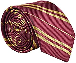 Besmon Halloween Cosplay Tie for Harry Tie Birthday Party Christmas Party Daily Use - Hand Make Striped Necktie As The Best Gift for Children