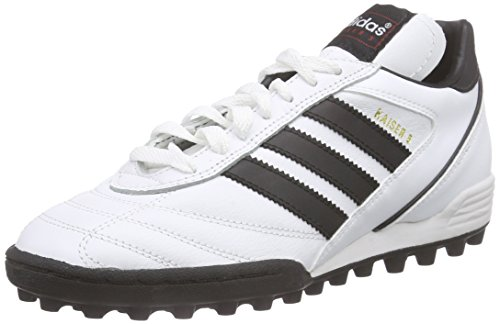 adidas Herren Kaiser 5 Team Fußballschuhe, Weiß (FTWR White/Core Black/Core Black), 39 1/3 EU