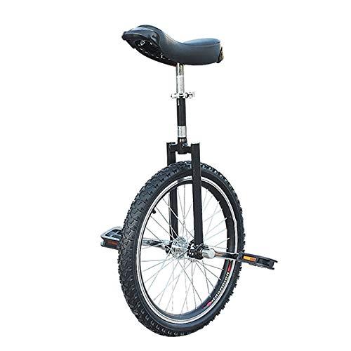 Competición Unicycle Balance robusto de 18 pulgadas Unicycles para principiantes / adolescentes, con rueda de neumático de butilo a prueba de fugas Ciclismo Deportes al aire libre Ejercicio de ejercic