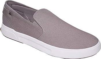Quiksilver Men s SURF Check II Premium Skate Shoe Grey/Grey/Grey 9 42  M US