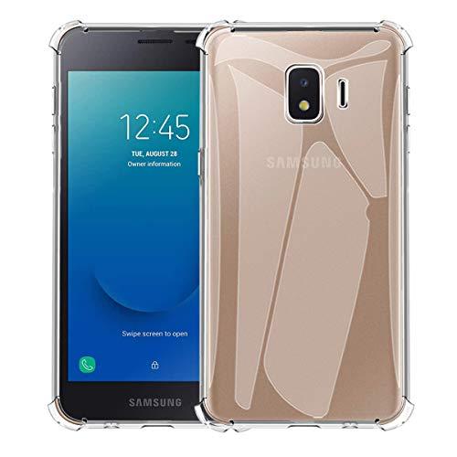 Aerku Funda para Samsung Galaxy J2 Core 2020, Silicona [Ultra Slim] Funda Suave TPU Transparente, Resistente Anti-Arañazos Protectora Case Cover para Samsung Galaxy J2 Core 2020