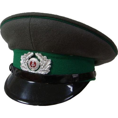 VEB Schirmmütze Grenztruppen DDR NVA Soldat Mütze Größe 52